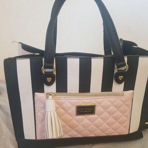 Betsey johnson purse / satchel
